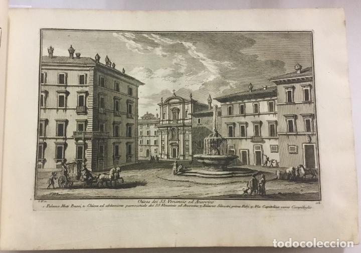 Libros antiguos: DELLE MAGNIFICENZE DI ROMA ANTICA E MODERNA. vedute di Roma. 1756-1761. + DE 100 GRABADOS - Foto 4 - 191725821