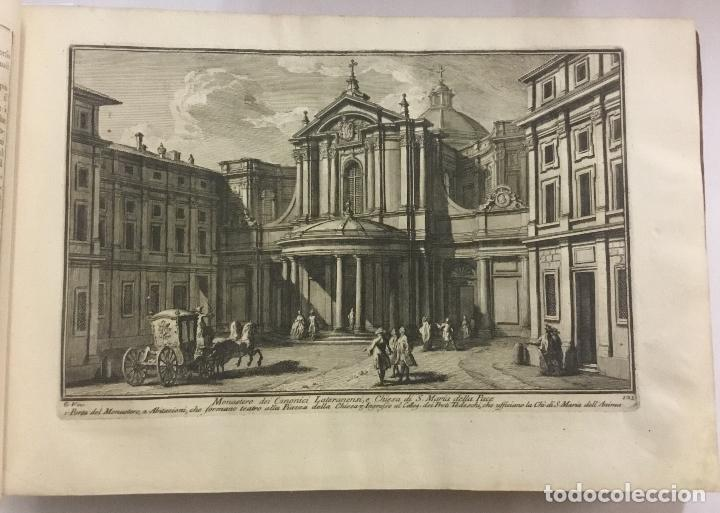 Libros antiguos: DELLE MAGNIFICENZE DI ROMA ANTICA E MODERNA. vedute di Roma. 1756-1761. + DE 100 GRABADOS - Foto 5 - 191725821