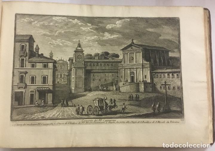 Libros antiguos: DELLE MAGNIFICENZE DI ROMA ANTICA E MODERNA. vedute di Roma. 1756-1761. + DE 100 GRABADOS - Foto 6 - 191725821