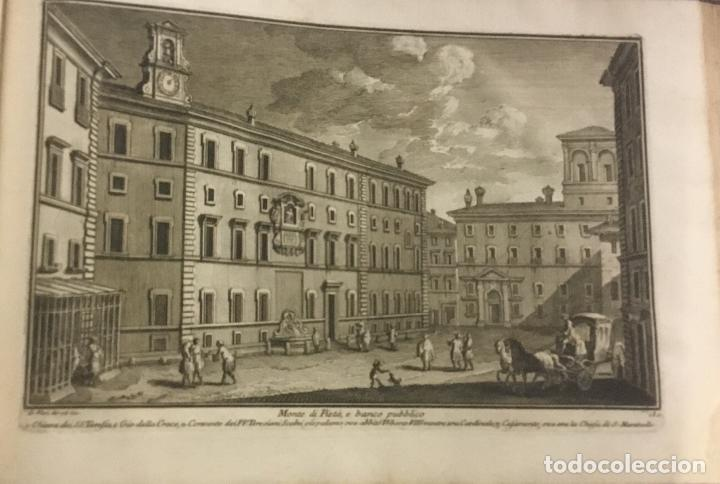 Libros antiguos: DELLE MAGNIFICENZE DI ROMA ANTICA E MODERNA. vedute di Roma. 1756-1761. + DE 100 GRABADOS - Foto 8 - 191725821