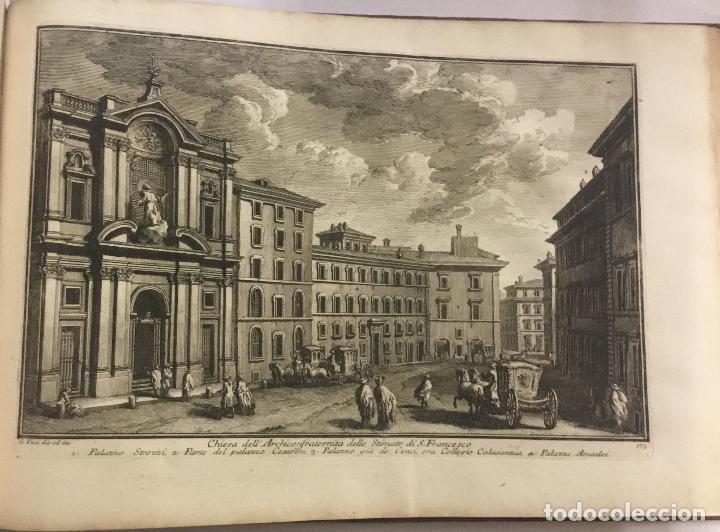 Libros antiguos: DELLE MAGNIFICENZE DI ROMA ANTICA E MODERNA. vedute di Roma. 1756-1761. + DE 100 GRABADOS - Foto 9 - 191725821
