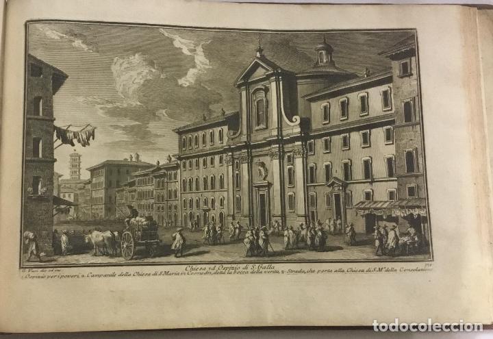 Libros antiguos: DELLE MAGNIFICENZE DI ROMA ANTICA E MODERNA. vedute di Roma. 1756-1761. + DE 100 GRABADOS - Foto 10 - 191725821