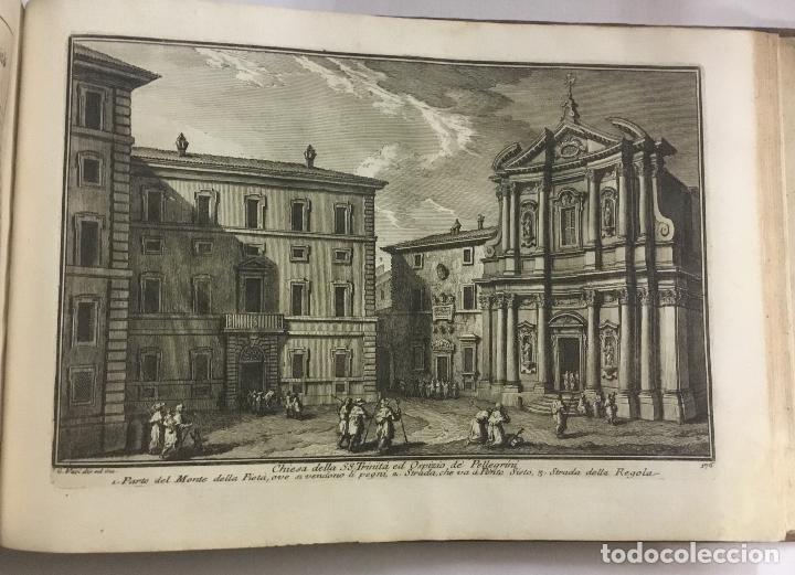 Libros antiguos: DELLE MAGNIFICENZE DI ROMA ANTICA E MODERNA. vedute di Roma. 1756-1761. + DE 100 GRABADOS - Foto 11 - 191725821
