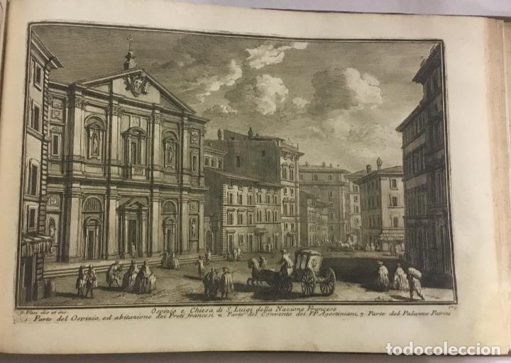 Libros antiguos: DELLE MAGNIFICENZE DI ROMA ANTICA E MODERNA. vedute di Roma. 1756-1761. + DE 100 GRABADOS - Foto 12 - 191725821