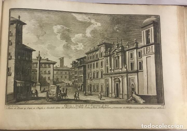 Libros antiguos: DELLE MAGNIFICENZE DI ROMA ANTICA E MODERNA. vedute di Roma. 1756-1761. + DE 100 GRABADOS - Foto 13 - 191725821