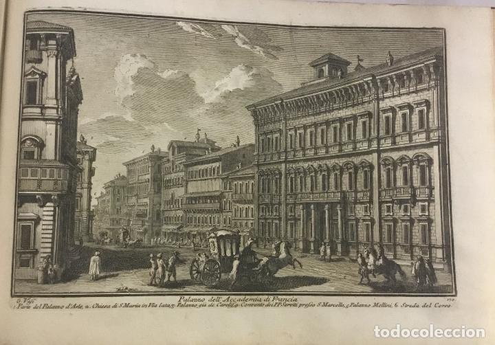 Libros antiguos: DELLE MAGNIFICENZE DI ROMA ANTICA E MODERNA. vedute di Roma. 1756-1761. + DE 100 GRABADOS - Foto 14 - 191725821
