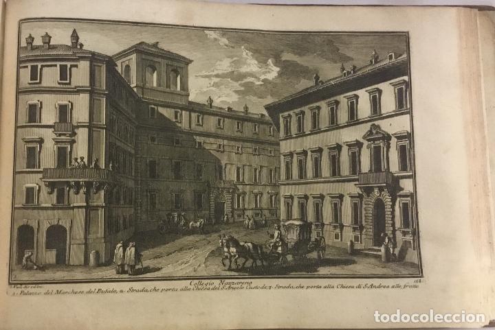 Libros antiguos: DELLE MAGNIFICENZE DI ROMA ANTICA E MODERNA. vedute di Roma. 1756-1761. + DE 100 GRABADOS - Foto 15 - 191725821