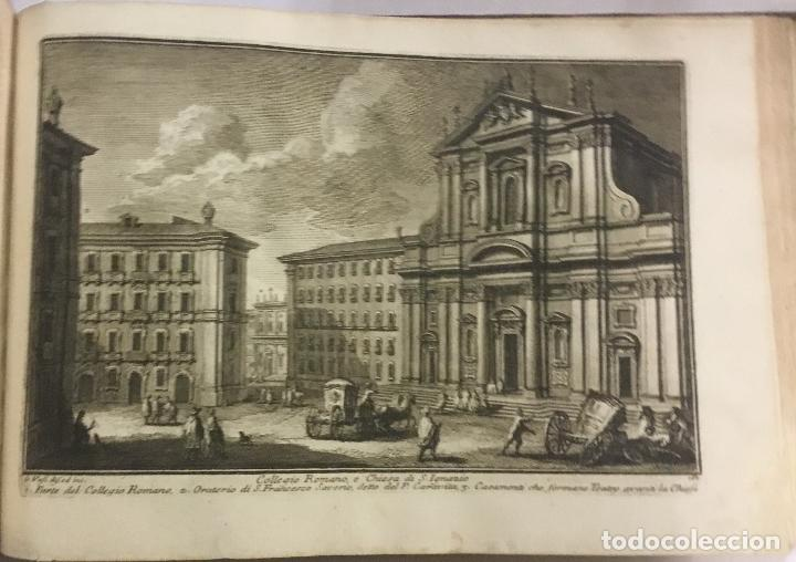 Libros antiguos: DELLE MAGNIFICENZE DI ROMA ANTICA E MODERNA. vedute di Roma. 1756-1761. + DE 100 GRABADOS - Foto 16 - 191725821