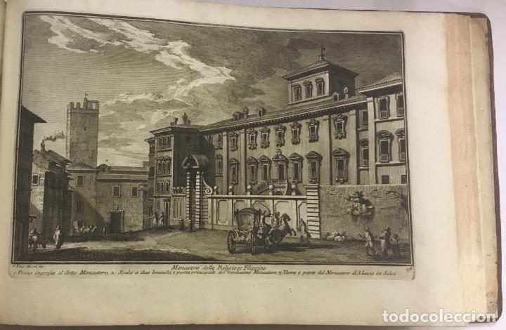Libros antiguos: DELLE MAGNIFICENZE DI ROMA ANTICA E MODERNA. vedute di Roma. 1756-1761. + DE 100 GRABADOS - Foto 17 - 191725821