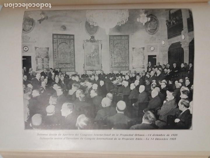 Libros antiguos: DECORATIVO CONGRESO INTERNACIONAL de la PROPIEDAD URBANA Barcelona 1925 - Foto 19 - 191874172