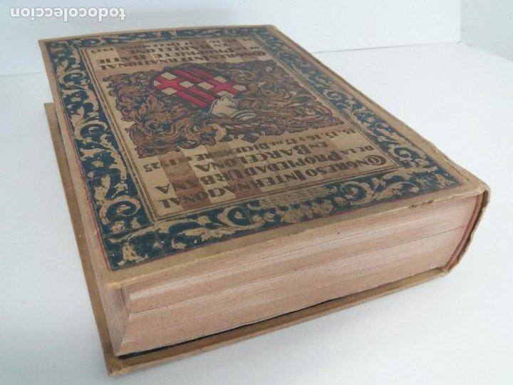 Libros antiguos: DECORATIVO CONGRESO INTERNACIONAL de la PROPIEDAD URBANA Barcelona 1925 - Foto 32 - 191874172