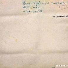 Libros antiguos: LE CORBUSIER ET SON ATELIER DE SEVRES 35. OEUVRE COMPLETE 1952-1957. VOL. 6. - LE CORBUSIER ( 1887-1. Lote 277519733