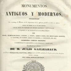 Libros antiguos: MONUMENTOS ANTIGUOS Y MODERNOS DESAPARECIDOS, MADRID 1848, 311 PÁG, SIN NUMERAR ( VER DESCRIPCIÓN). Lote 194154661