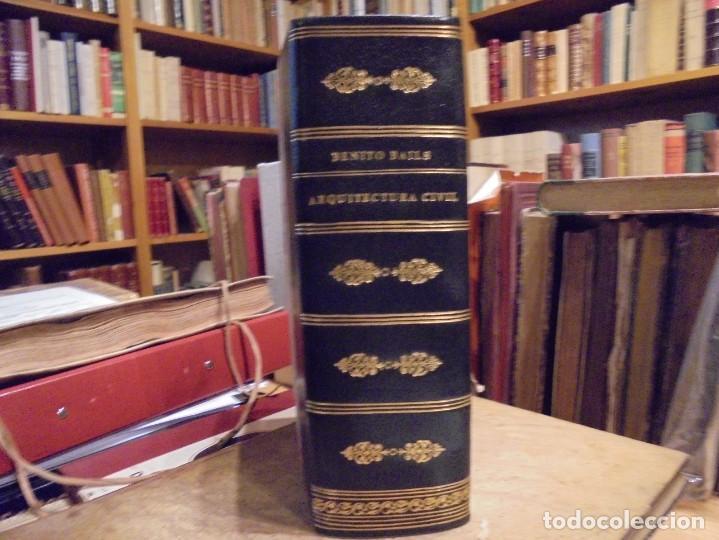 ARQUITECTURA CIVIL. BAILS. 1796. 64 GRABADOS (Libros Antiguos, Raros y Curiosos - Bellas artes, ocio y coleccion - Arquitectura)