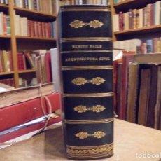Libros antiguos: ARQUITECTURA CIVIL. BAILS. 1796. 64 GRABADOS. Lote 194507628