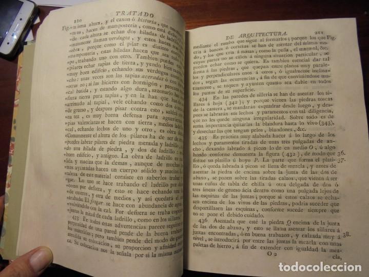 Libros antiguos: ARQUITECTURA CIVIL. BAILS. 1796. 64 GRABADOS - Foto 4 - 194507628