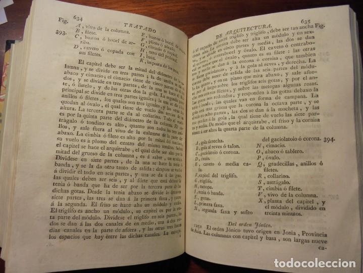 Libros antiguos: ARQUITECTURA CIVIL. BAILS. 1796. 64 GRABADOS - Foto 5 - 194507628