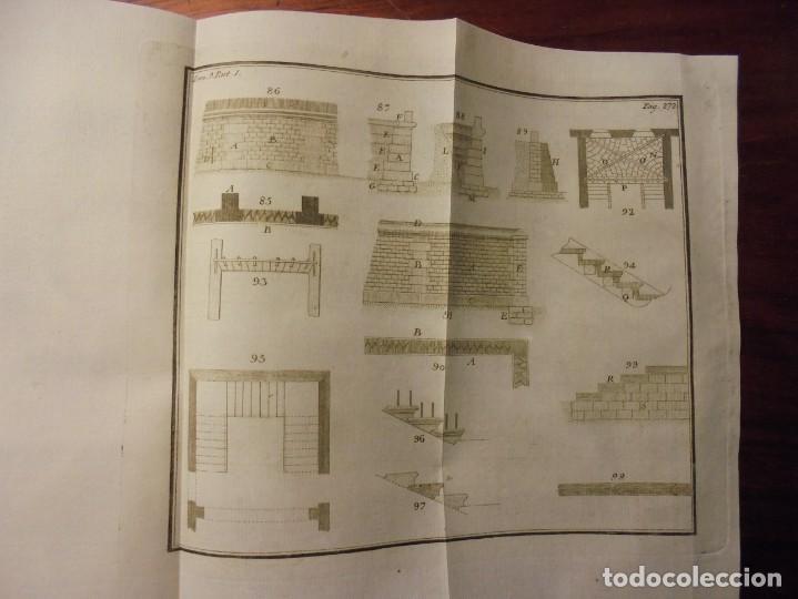 Libros antiguos: ARQUITECTURA CIVIL. BAILS. 1796. 64 GRABADOS - Foto 6 - 194507628