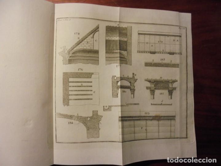 Libros antiguos: ARQUITECTURA CIVIL. BAILS. 1796. 64 GRABADOS - Foto 7 - 194507628