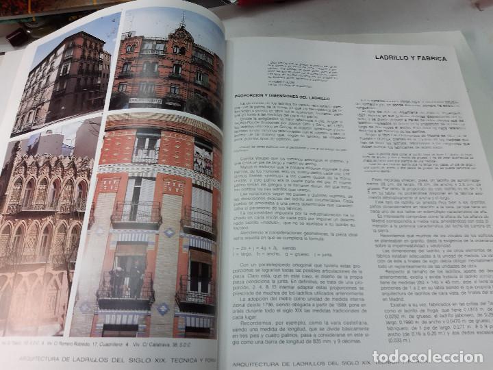 Libros antiguos: ARQUITECTURA DE LABRILLOS DEL SIGLO XIX. TECNICA Y FORMA JOSEP MARIA ASELL ARGILES - Foto 3 - 194577682