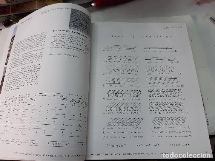 Libros antiguos: ARQUITECTURA DE LABRILLOS DEL SIGLO XIX. TECNICA Y FORMA JOSEP MARIA ASELL ARGILES - Foto 4 - 194577682