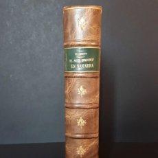 Libros antiguos: EL ARTE ROMÁNICO EN NAVARRA. TOMÁS BIURRUN Y SOTIL. PAMPLONA- 1936. Lote 194590531