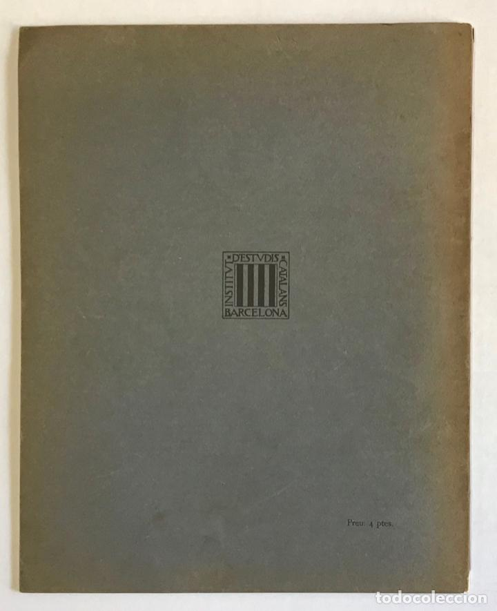 Libros antiguos: LAQÜEDUCTE ROMÀ DE PINEDA. - PRAT I PUIG, Francesc. - Foto 5 - 194681311