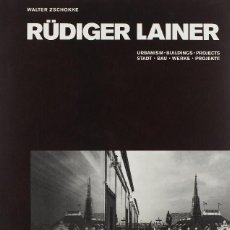 Libros antiguos: LIBRO WALTER ZSCHOKKE RUDIGER LAINER: BUILDINGS AND PROJECTS. Lote 195135435