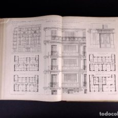 Libros antiguos: NOUVELLES ANNALES DE LA CONSTRUCTIÓN. 5º SERIE, TOMO II, AÑO 1895. Lote 195219751