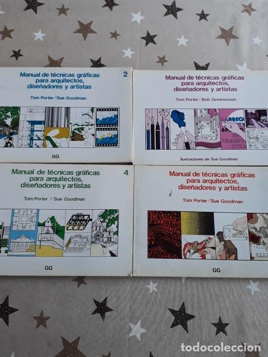 LIBROS MANUAL DE TÉCNICAS GRÁFICAS PARA ARQUITECTO (Libros Antiguos, Raros y Curiosos - Bellas artes, ocio y coleccion - Arquitectura)