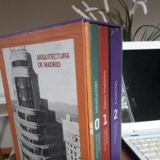 Libros antiguos: ARQUITECTURA DE MADRID, OBRA COMPLETA. FUNDACIÓN COAM. 2003. EN SU ESTUCHE. UNA JOYA. Lote 195646275