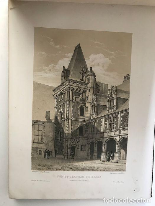 Libros antiguos: Album du chateau de Blois restauré...1851 - Foto 5 - 195996260