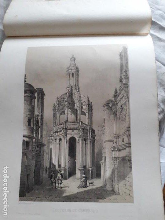 Libros antiguos: Album du chateau de Blois restauré...1851 - Foto 9 - 195996260