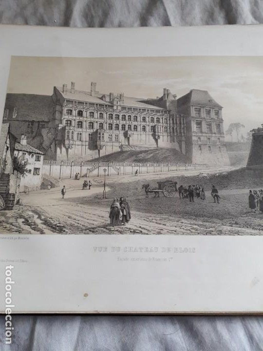 Libros antiguos: Album du chateau de Blois restauré...1851 - Foto 11 - 195996260