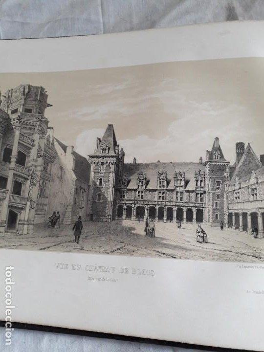 Libros antiguos: Album du chateau de Blois restauré...1851 - Foto 12 - 195996260