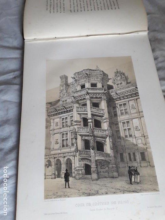 Libros antiguos: Album du chateau de Blois restauré...1851 - Foto 13 - 195996260