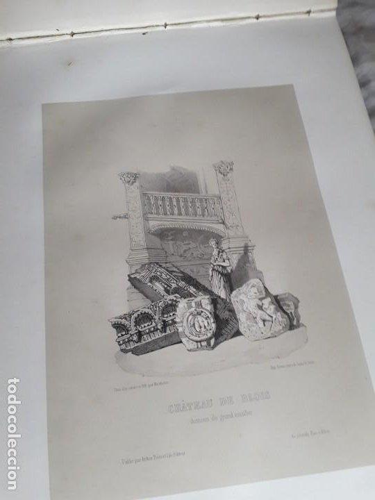 Libros antiguos: Album du chateau de Blois restauré...1851 - Foto 14 - 195996260