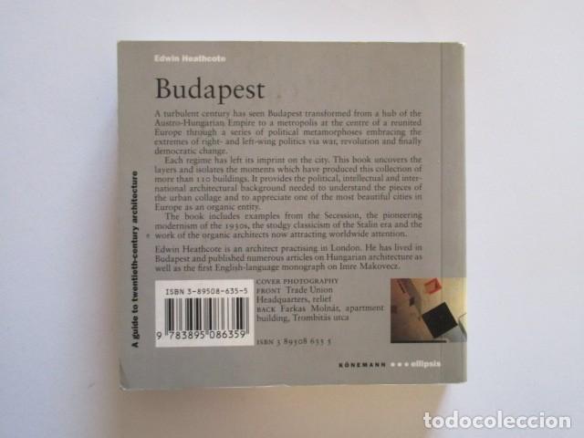 Libros antiguos: BUDAPEST, GUÍA DEL SIGLO XX, MINIATURA, VER FOTOS - Foto 3 - 197250067