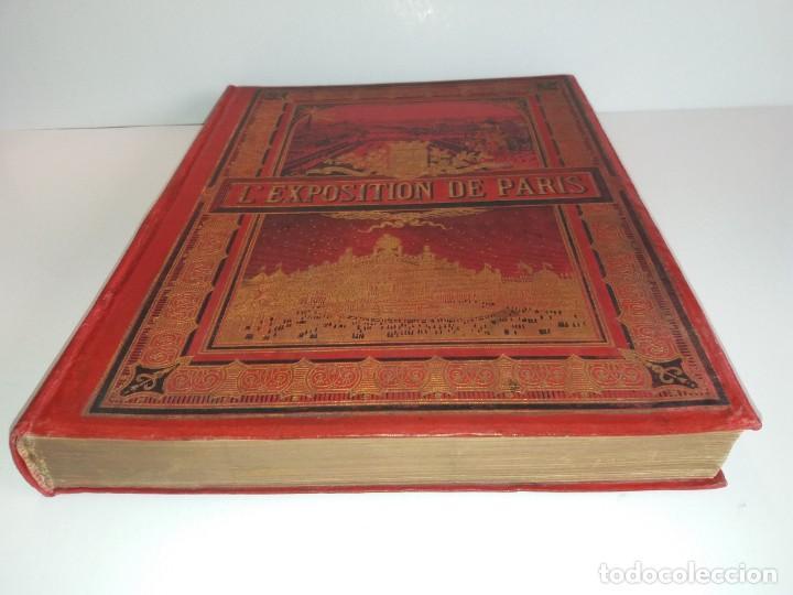 Libros antiguos: ESPECTACULAR EXPOSICION UNIVERSAL PARIS 1900 MONUMENTAL LIBRO 37 cm - Foto 3 - 198258843