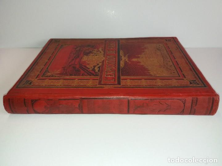 Libros antiguos: ESPECTACULAR EXPOSICION UNIVERSAL PARIS 1900 MONUMENTAL LIBRO 37 cm - Foto 4 - 198258843