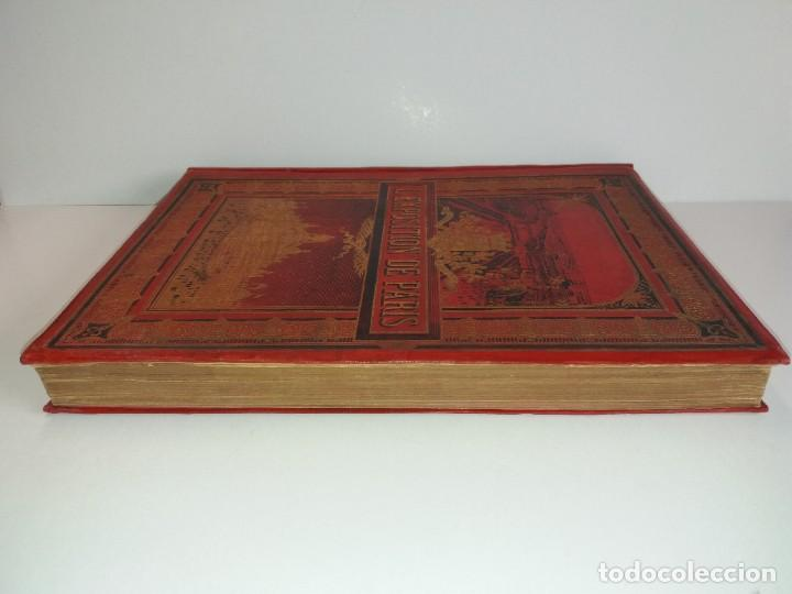Libros antiguos: ESPECTACULAR EXPOSICION UNIVERSAL PARIS 1900 MONUMENTAL LIBRO 37 cm - Foto 5 - 198258843