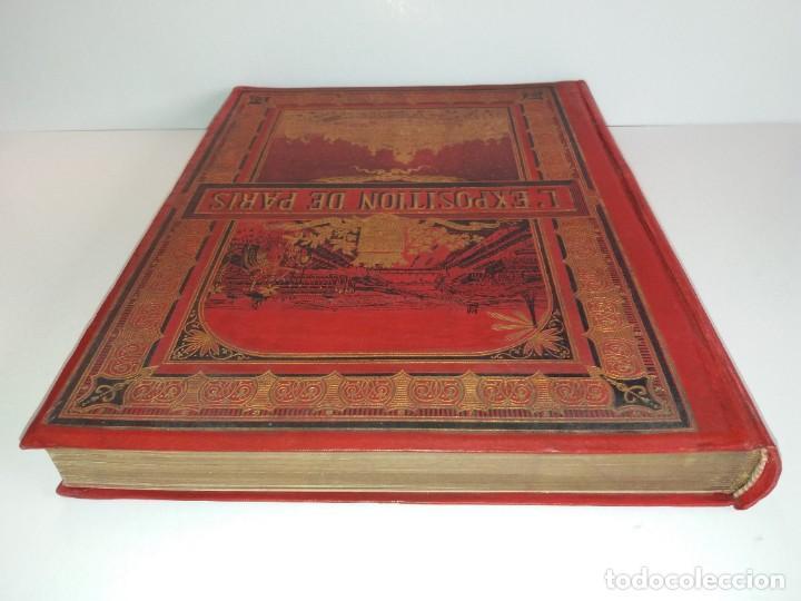 Libros antiguos: ESPECTACULAR EXPOSICION UNIVERSAL PARIS 1900 MONUMENTAL LIBRO 37 cm - Foto 6 - 198258843