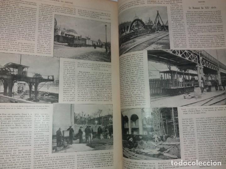 Libros antiguos: ESPECTACULAR EXPOSICION UNIVERSAL PARIS 1900 MONUMENTAL LIBRO 37 cm - Foto 15 - 198258843