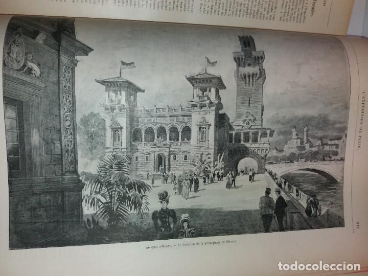 Libros antiguos: ESPECTACULAR EXPOSICION UNIVERSAL PARIS 1900 MONUMENTAL LIBRO 37 cm - Foto 16 - 198258843