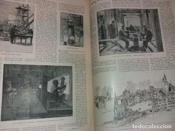 Libros antiguos: ESPECTACULAR EXPOSICION UNIVERSAL PARIS 1900 MONUMENTAL LIBRO 37 cm - Foto 18 - 198258843