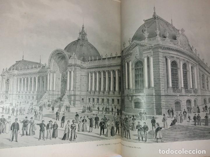 Libros antiguos: ESPECTACULAR EXPOSICION UNIVERSAL PARIS 1900 MONUMENTAL LIBRO 37 cm - Foto 19 - 198258843