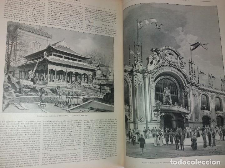 Libros antiguos: ESPECTACULAR EXPOSICION UNIVERSAL PARIS 1900 MONUMENTAL LIBRO 37 cm - Foto 20 - 198258843
