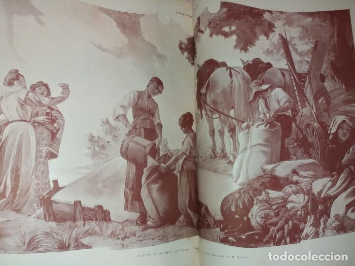 Libros antiguos: ESPECTACULAR EXPOSICION UNIVERSAL PARIS 1900 MONUMENTAL LIBRO 37 cm - Foto 22 - 198258843