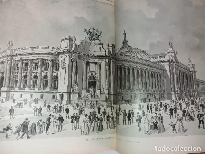 Libros antiguos: ESPECTACULAR EXPOSICION UNIVERSAL PARIS 1900 MONUMENTAL LIBRO 37 cm - Foto 25 - 198258843