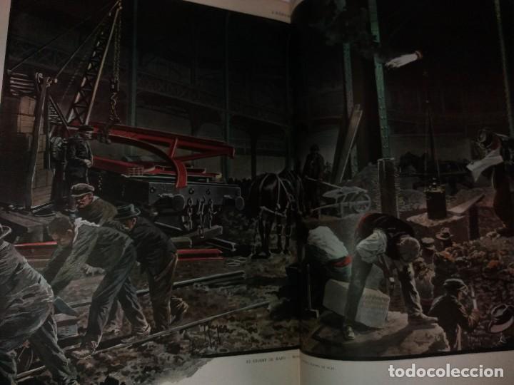 Libros antiguos: ESPECTACULAR EXPOSICION UNIVERSAL PARIS 1900 MONUMENTAL LIBRO 37 cm - Foto 27 - 198258843